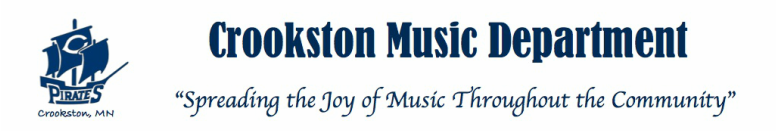 Crookston Music Department